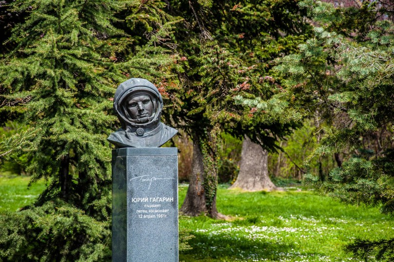 Gagarin's Monument - Astronauts' Alley - Sea Garden - Varna, Bulgaria - www.rossiwrites.com