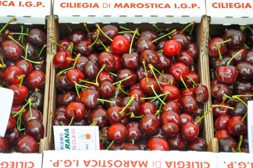 Marostica Cherries - Marostica, Veneto, Italy - www.rossiwrites.com
