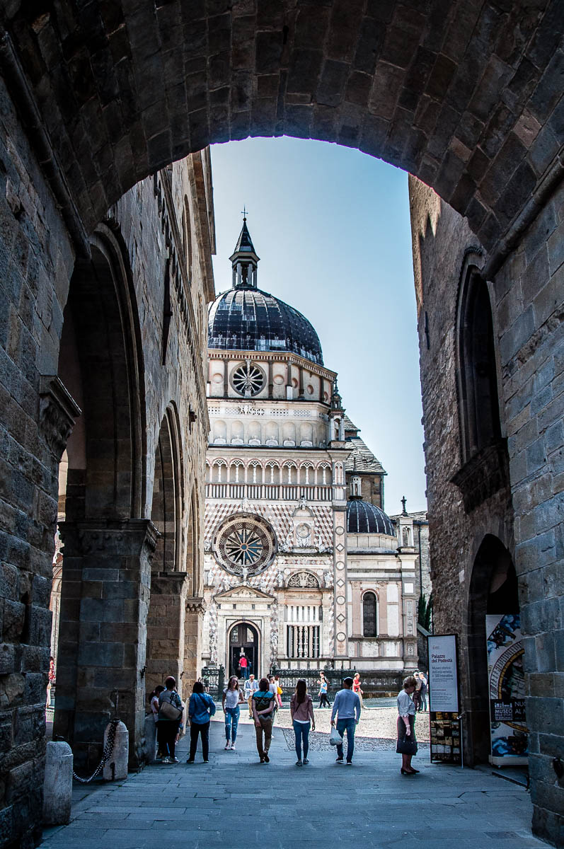 The Colleoni Chapel - Bergamo Upper City, Lombardy, Italy - www.rossiwrites.com