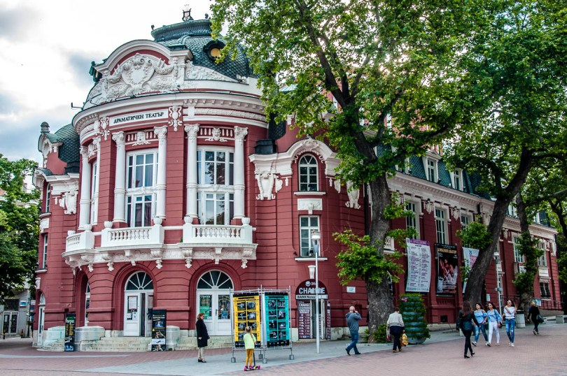 Varna's Opera and Theatre House - Varna, Bulgaria - www.rossiwrites.com