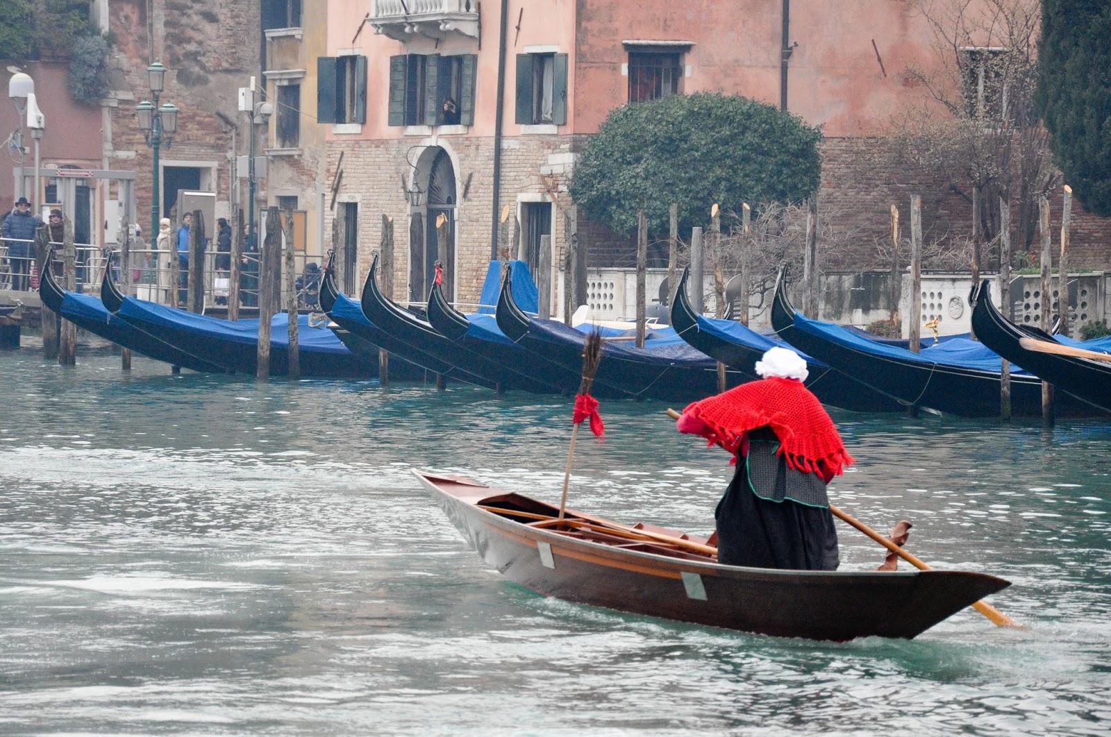 Red Befana Race Venice Italy