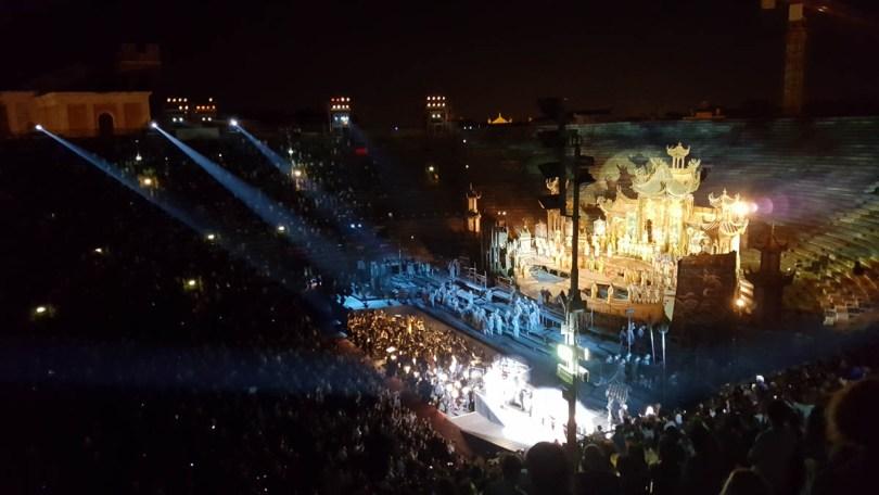 Standing ovation- Verona Opera Festival - Veneto, Italy - www.rossiwrites.com