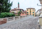 San Michele Bridge over the river Retrone - Vicenza, Italy - www.rossiwrites.com