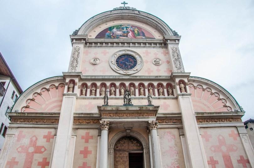 Church of Santa Maria Nascente - Pieve di Cadore, Veneto, Italy - www.rossiwrites.com