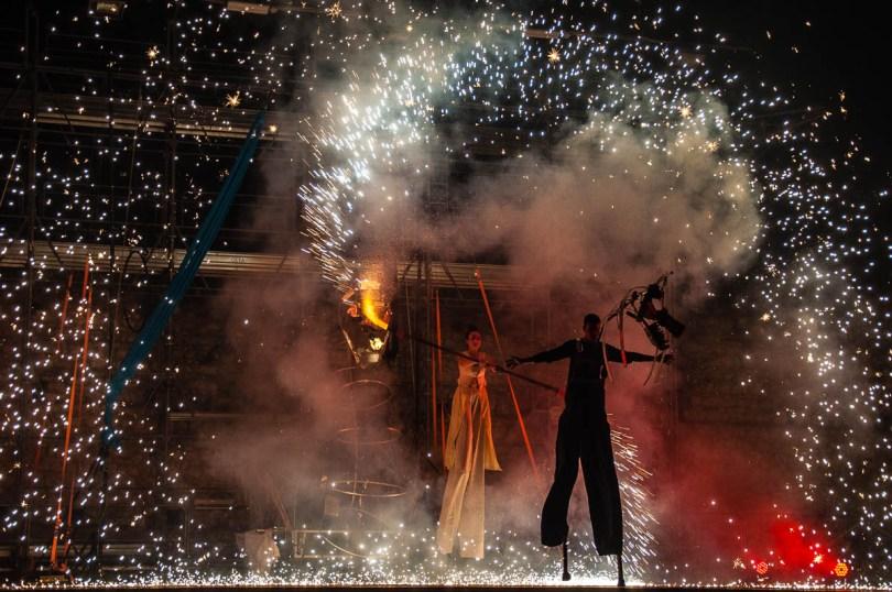 Dancing with Fire - Montecchio Medievale - Montecchio Maggiore, Veneto, Italy - www.rossiwrites.com