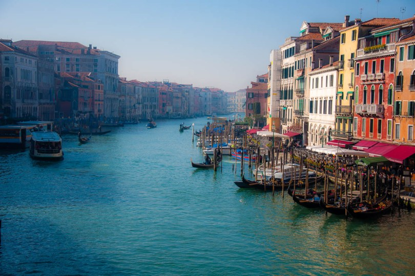Venice seen from the Grand Canal - Veneto, Italy - www.rossiwrites.com