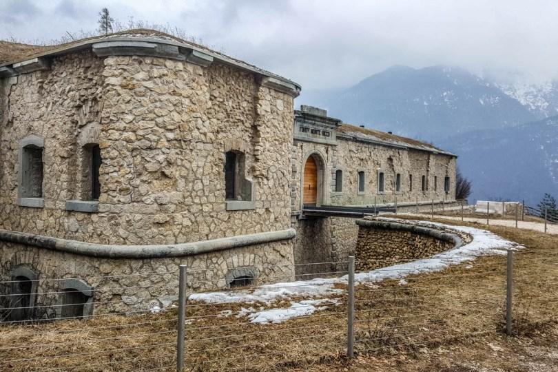 Monte Ricco Fort - Pieve di Cadore, Veneto, Italy - www.rossiwrites.com
