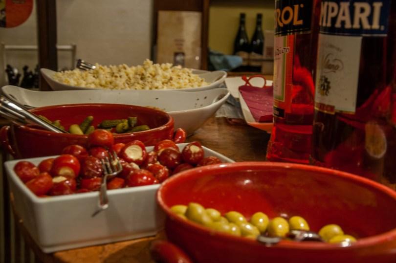 Traditional Italian apericena - Verona, Italy - Italian food - www.rossiwrites.com