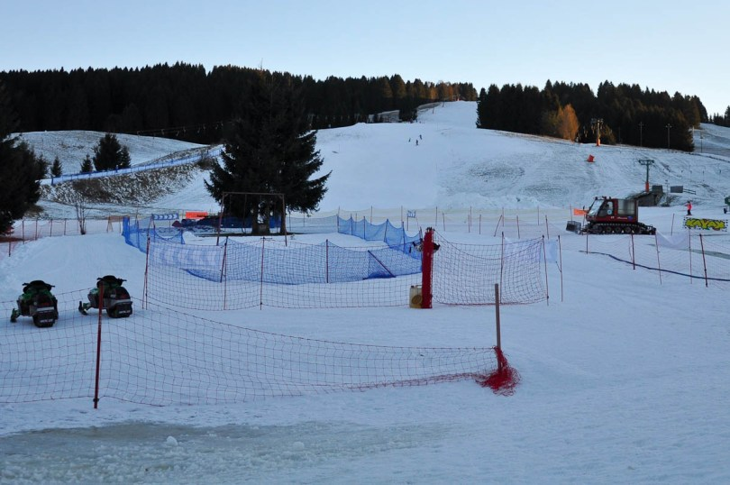 Skiing at Kaberlaba, Asiago, Veneto, Italy - www.rossiwrites.com