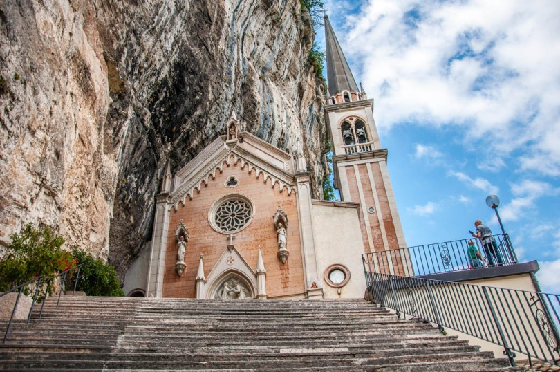 Sanctuary of the Madonna della Corona - Spiazzi, Veneto, Italy - www.rossiwrites.com
