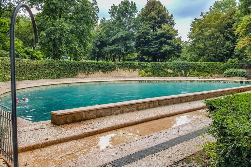 Roman pool in Terme di Giunone - Caldiero, Veneto, Italy - www.rossiwrites.com