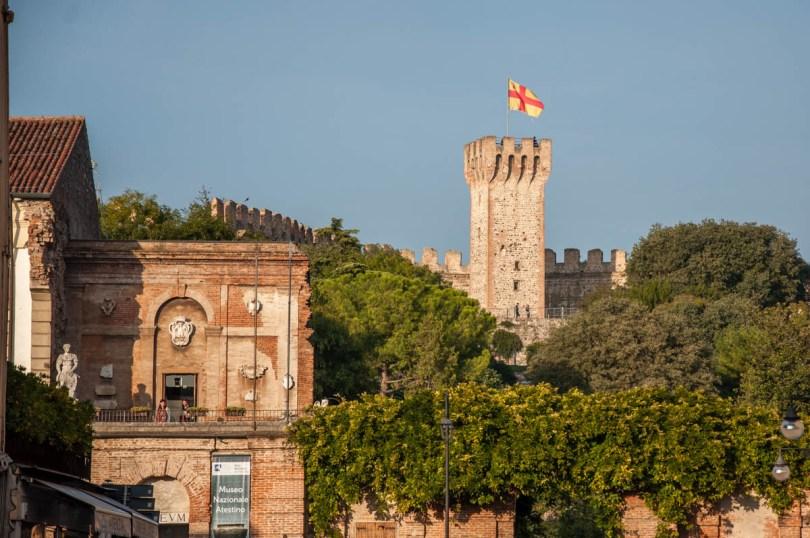 The National Atestino Museum and the Carrara Castle - Este, Veneto, Italy - www.rossiwrites.com