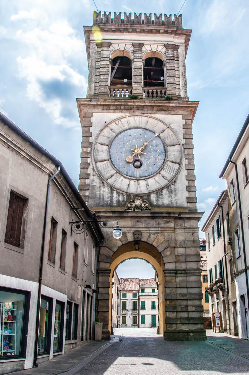 Torre Civica of the Porta Vecchia - Este, Veneto, Italy - www.rossiwrites.com