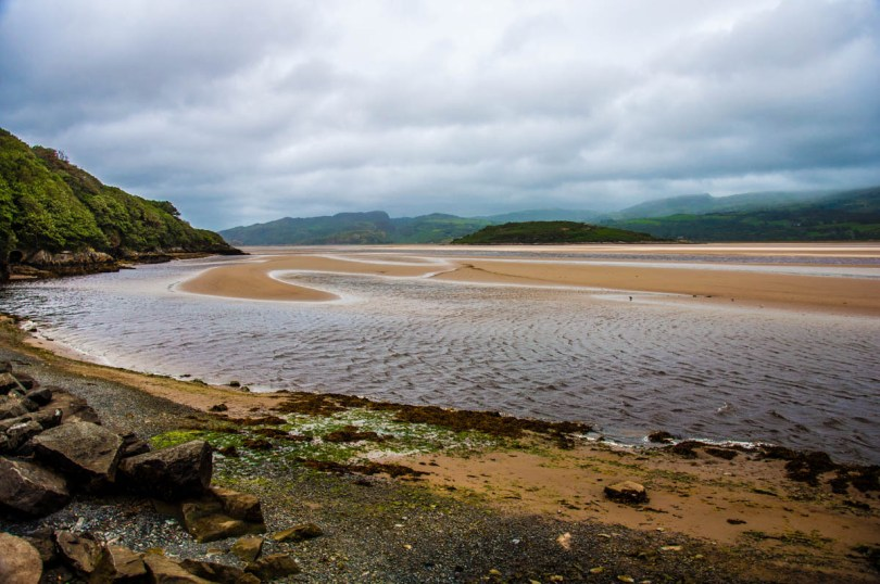 The estuary of the river Dwyryd - Portmeirion - Wales, UK - rossiwrites.com