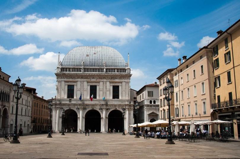 Piazza della Loggia - Brescia, Lombardy, Italy - rossiwrites.com