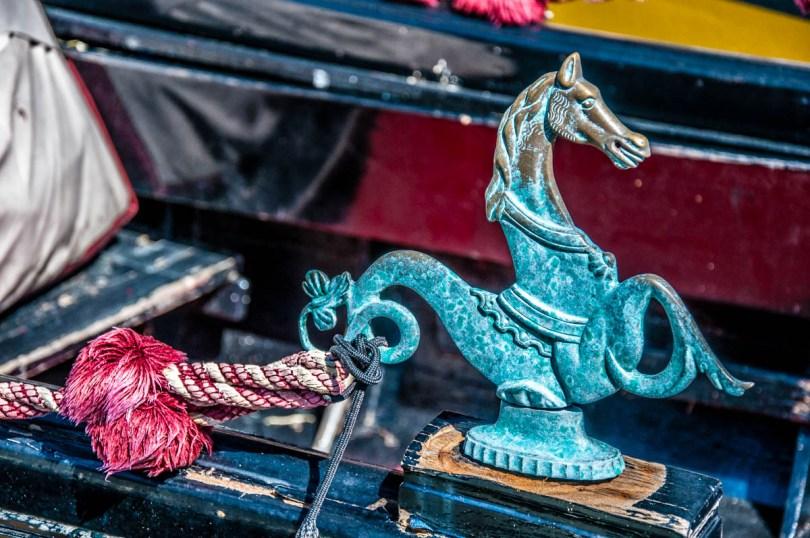 Gondola decorations - Venice, Italy - rossiwrites.com