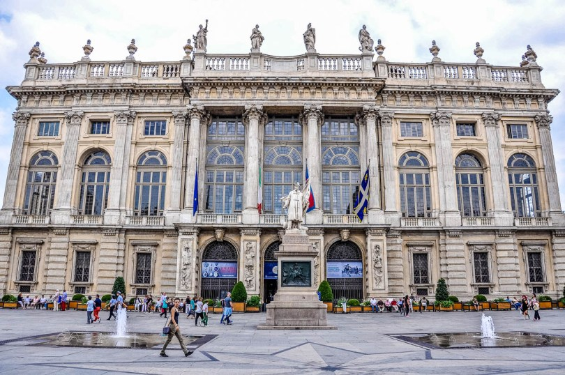 Palazzo Madama - Turin - Piedmont, Italy - rossiwrites.com