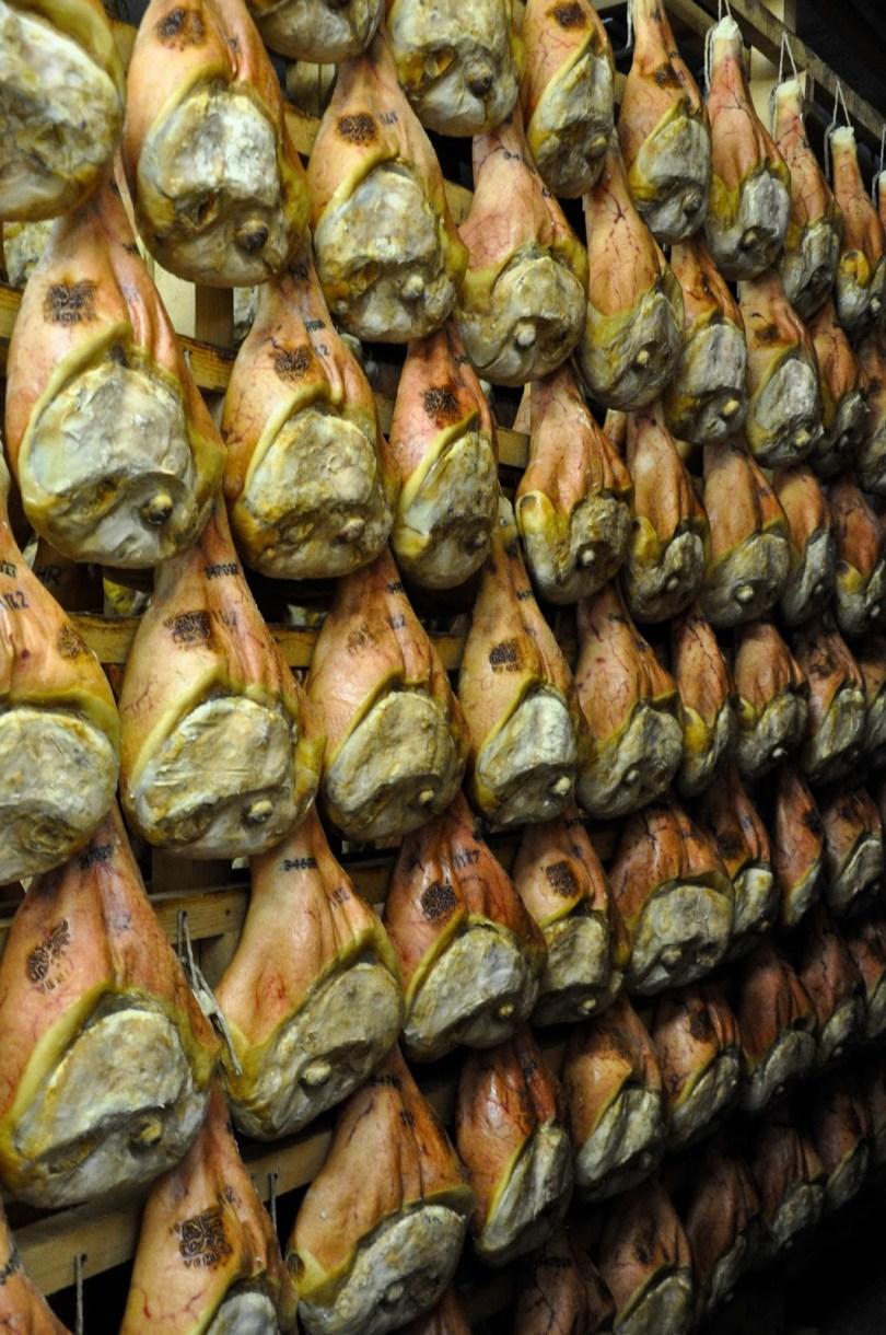 Prosciutto factory - Montagnana, Veneto, Italy - rossiwritescom