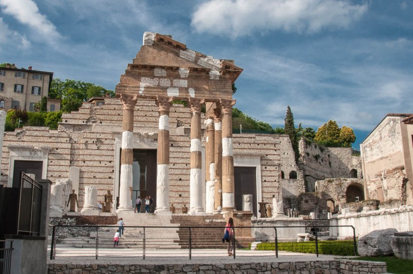 The Capitolium and the Roman Forum - Brescia, Lombardy, Italy - rossiwrites.com
