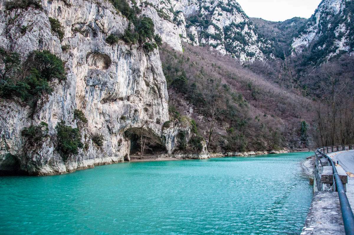 The Furlo Pass and Gorge - Marche, Italy - rossiwrites.com