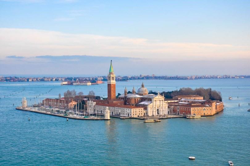 The island of San Giorgio Maggiore - Venice, Veneto, Italy - rossiwrites.com