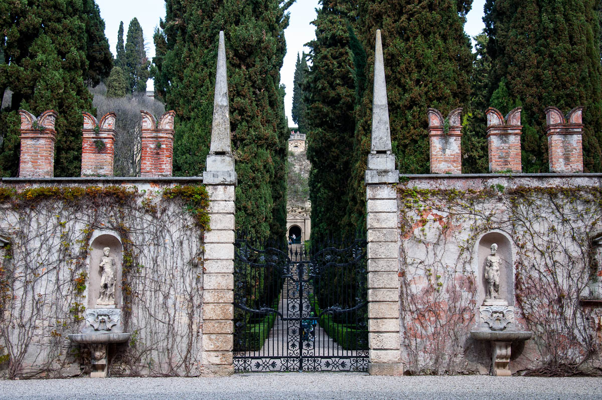 The main entrance, Giardino Giusti - Verona, Veneto, Italy - rossiwrites.com
