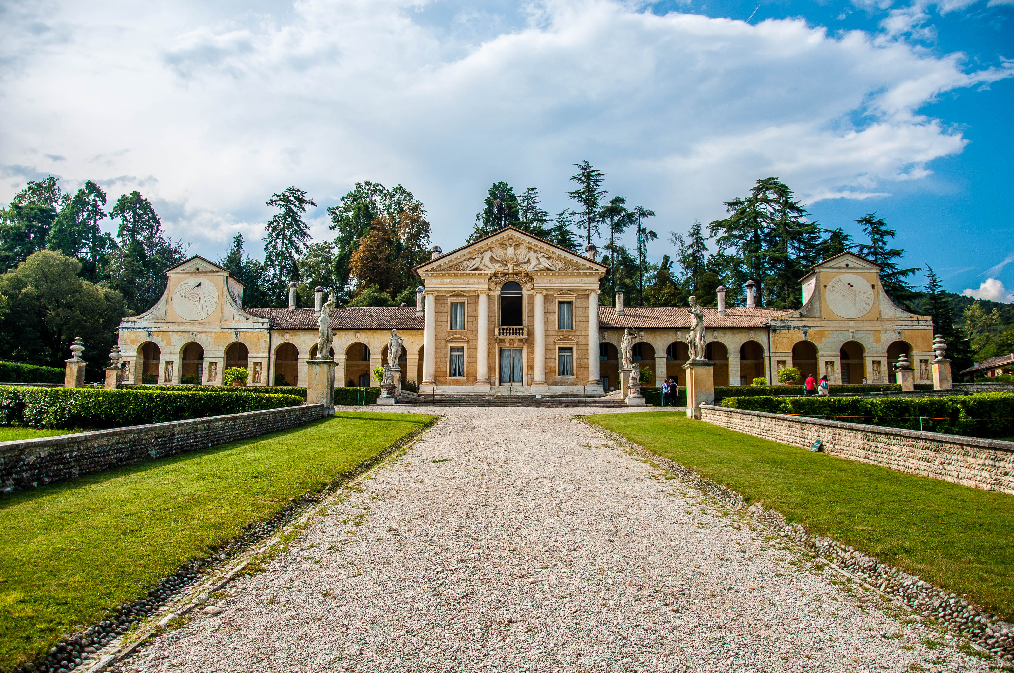 Villa Barbaro (also known as Villa di Maser) - Veneto, Italy - rossiwrites.com