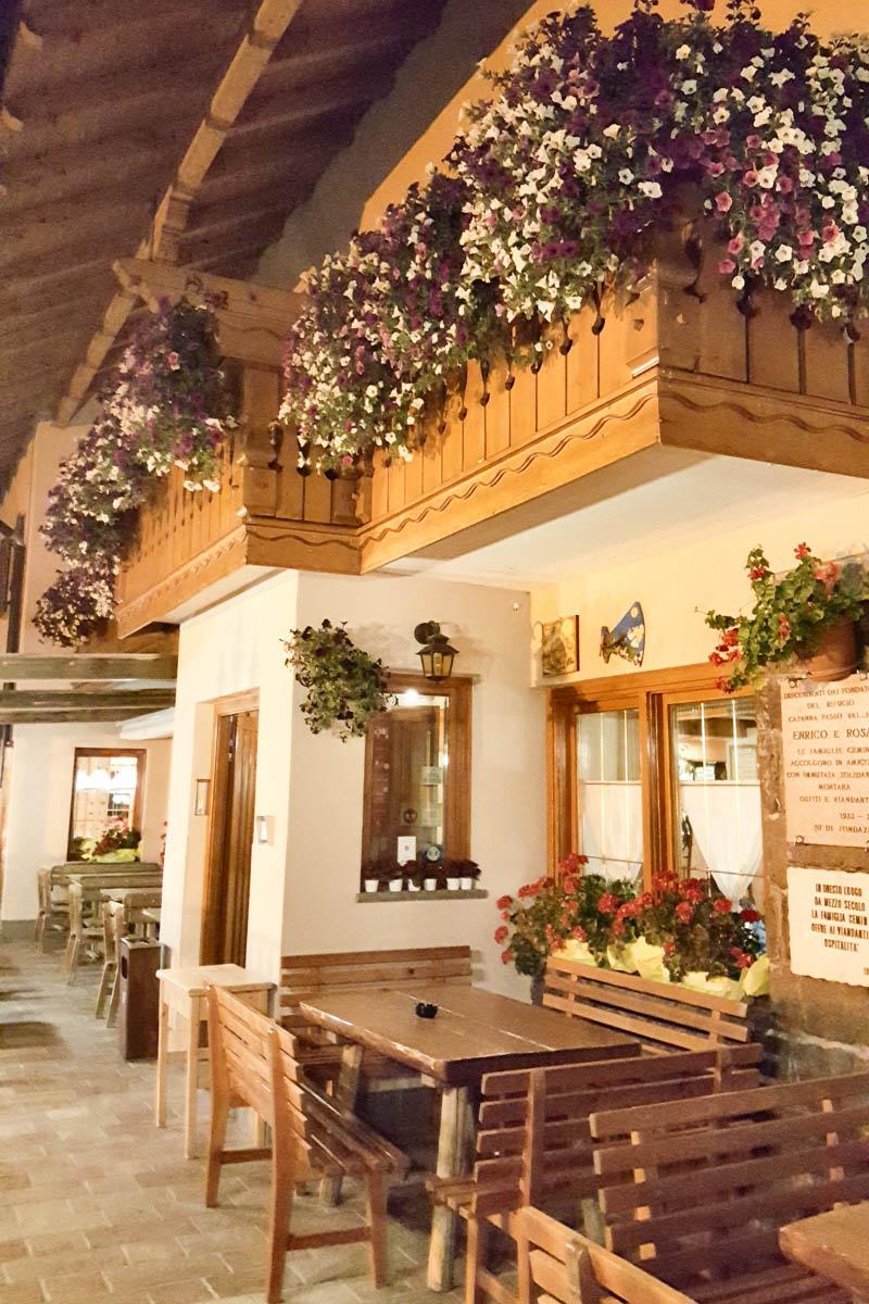 Capanna Passo Valles - Dolomites, Trentino, Italy - rossiwrites.com