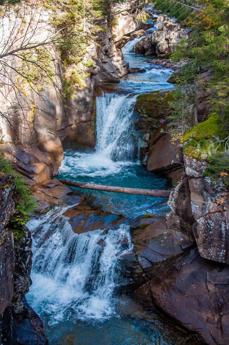 The cascading Travignolo stream - Paneveggio - The Violins' Forest - Dolomites, Trentino, Italy - rossiwrites.com