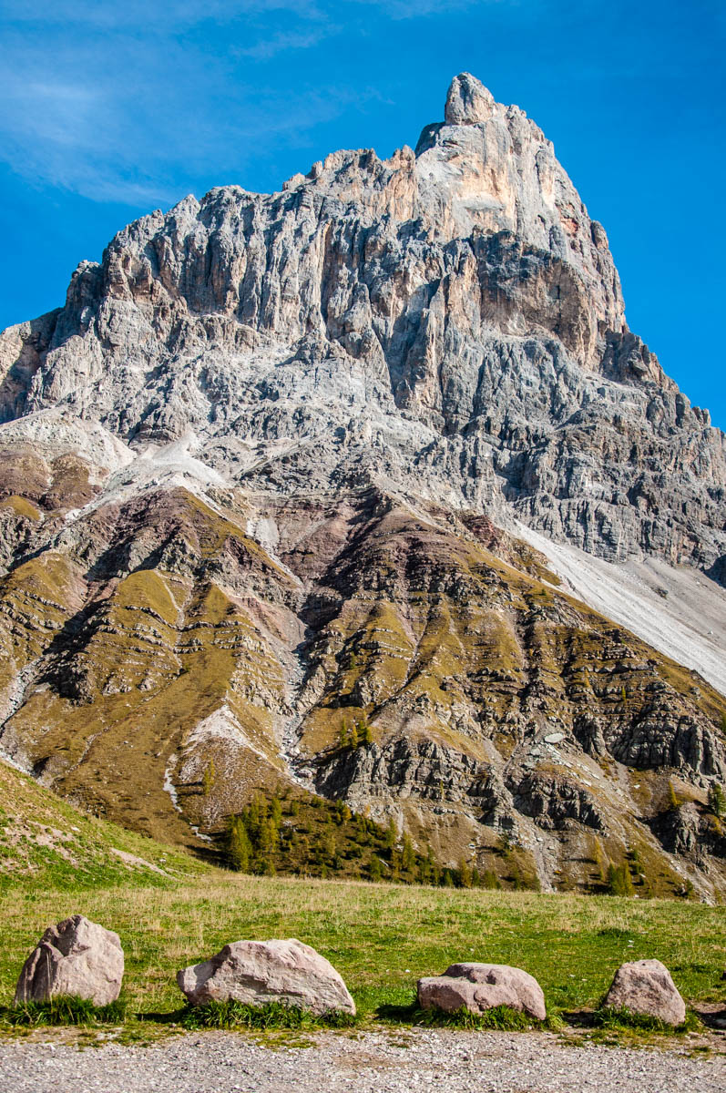 View of the Pala Group - Pale di San Martino - Dolomites, Trentino, Italy - rossiwrites.com