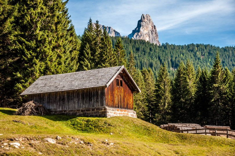 Wooden chalet in Paneveggio - The Violins' Forest - Dolomites, Trentino, Italy - rossiwrites.com