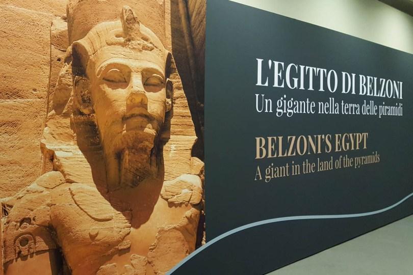 Belzoni's Egypt Exhibition - Padua, Veneto, Italy - rossiwrites.com