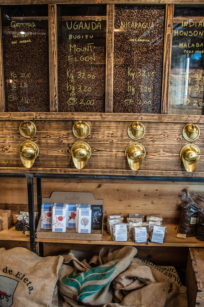 Coffee blends - Torrefazione Cannaregio, Venice, Italy - rossiwrites.com
