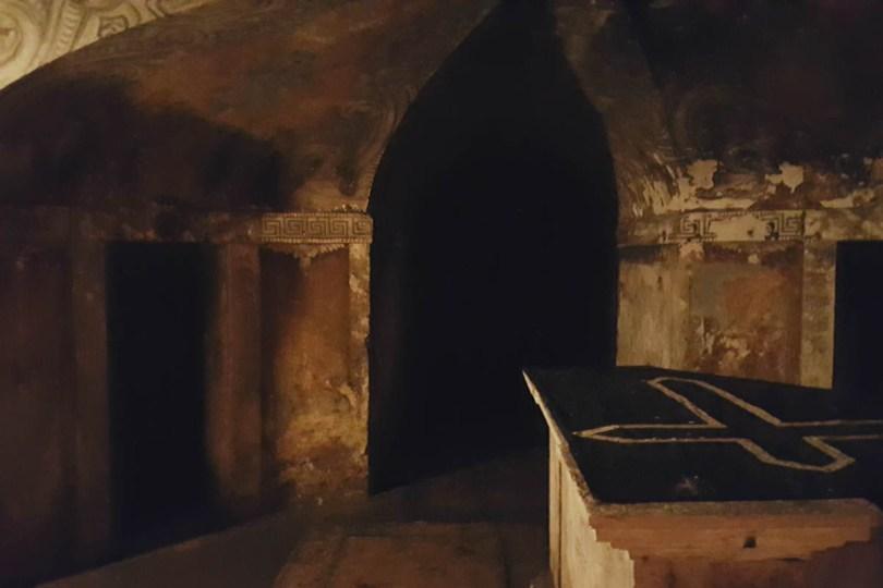 Crypt of the Church San Simeon Piccolo - Venice, Veneto, Italy - rossiwrites.com