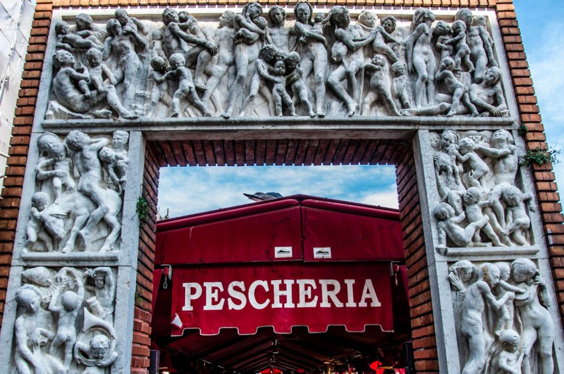 La Pescheria - Fish Market in Chioggia - Veneto, Italy - rossiwrites.com