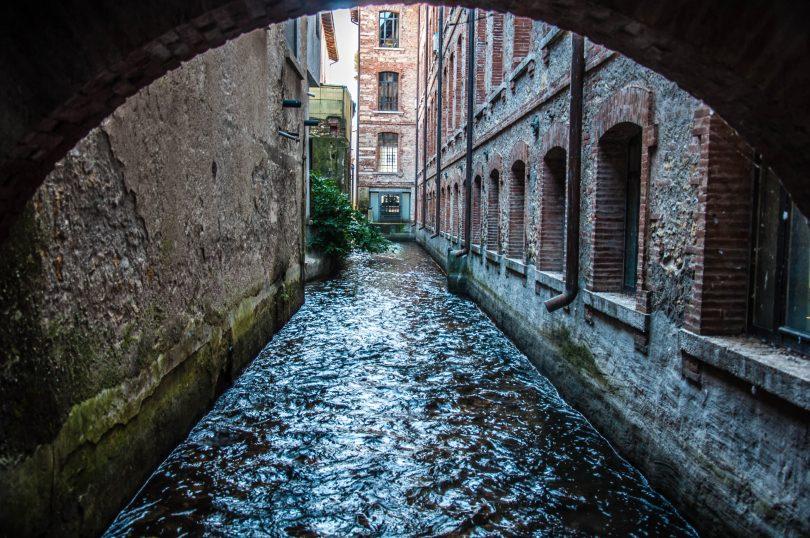 Roggia Maestra Canal - Schio, Veneto, Italy - rossiwrites.com