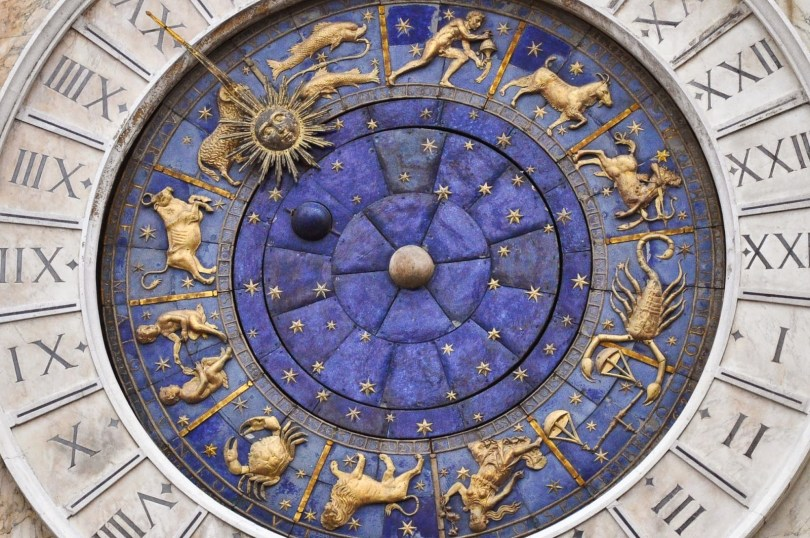 The clock on St. Mark's Square in Venice - rossiwrites.com