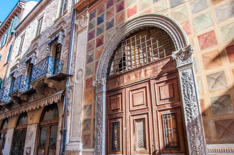 View of Loggia del Consiglio and Via delle Fogge - Verona, Veneto, Italy - rossiwrites.com