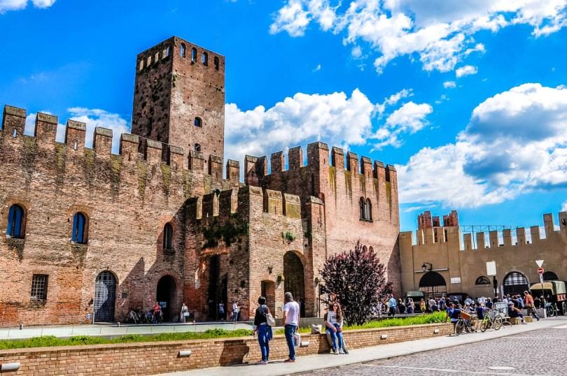 San Zeno Castle with Ezzelino's Tower - Montagnana, Veneto, Italy - rossiwrites.com