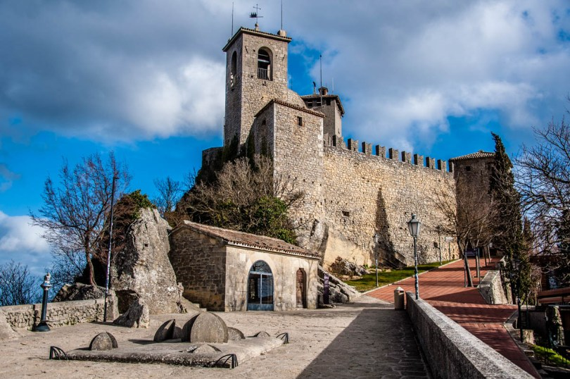 The Guaita Tower - San Marino - rossiwrites.com