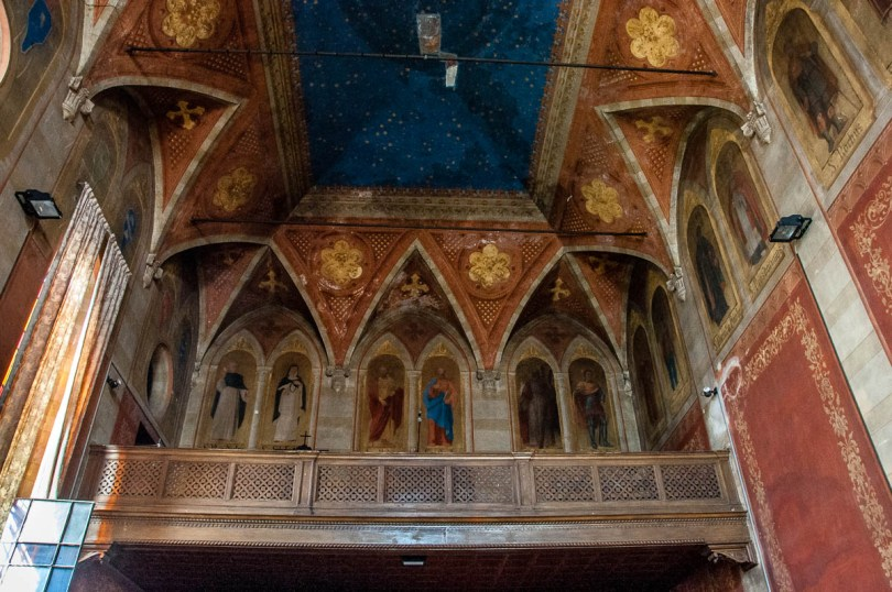 15th century Chapel of the Monks - Church of San Pietro - Vicenza, Italy - rossiwrites.com
