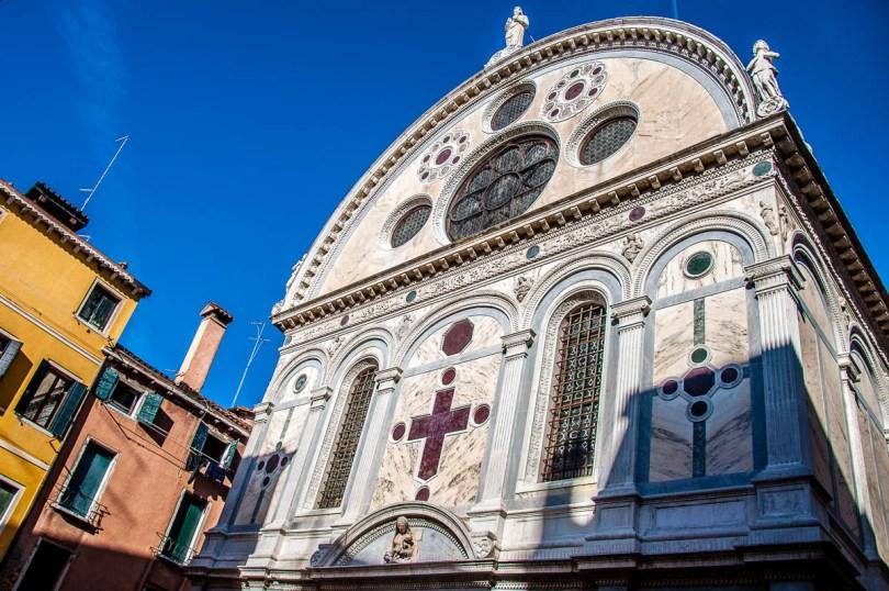 Church of Santa Maria dei Miracoli - Venice, Italy - rossiwrites.com