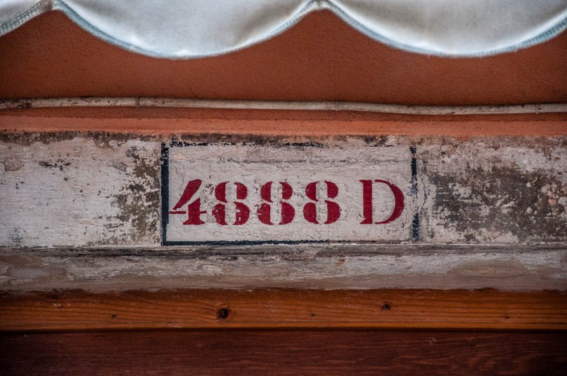 Four-figure street number - Venice, Italy - rossiwrites.com