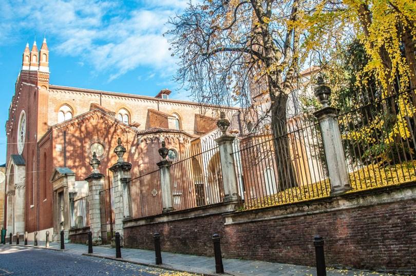 Church of Santa Corona - Vicenza, Italy - rossiwrites.com
