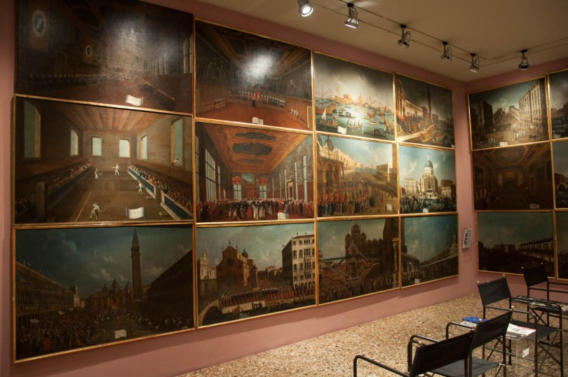 Room with scenes of Venetian life - Fondazione Querini-Stampalia - Venice, Italy - rossiwrites.com