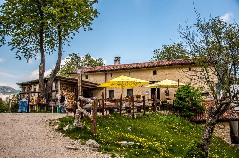 A malga - dairy farm - along the hike - Sentiero dei Grandi Alberi - Province of Vicenza, Veneto, Italy - rossiwrites.com