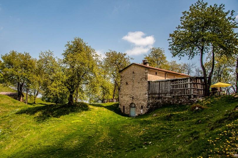 A small dairy farm - Sentiero dei Grandi Alberi - Province of Vicenza, Veneto, Italy - rossiwrites.com