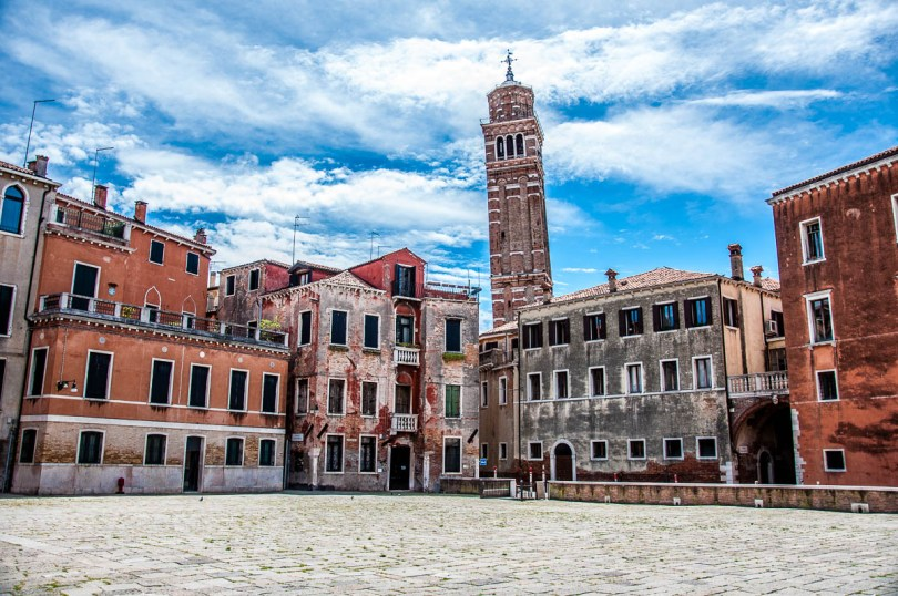 Campo Sant'Angelo - Venice, Italy - rossiwrites.com