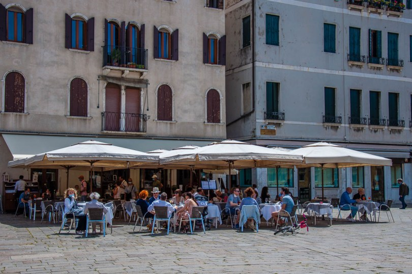 Lunching out - Venice, Italy - rossiwrites.com