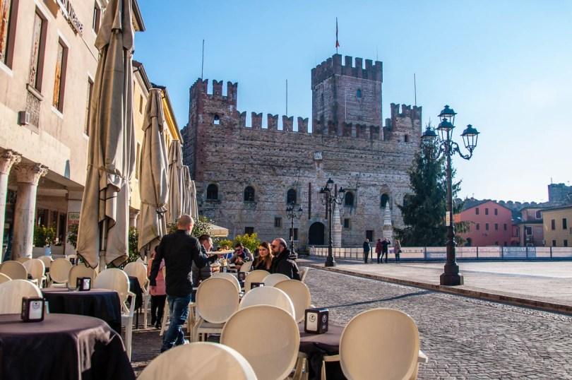 View of Piazza Castello - Marostica, Veneto, Italy - rossiwrites.com